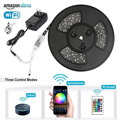 Led Light Strips With Remote Price Error  Joyplayer Smart Led Lightstrip New Wifi Flexible Rgb