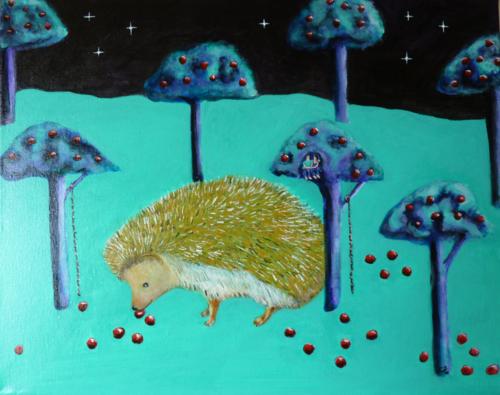 Hedgehog knows the way