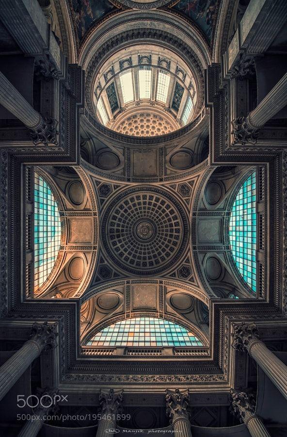 Popular on 500px : Pantheon ceiling by manjik