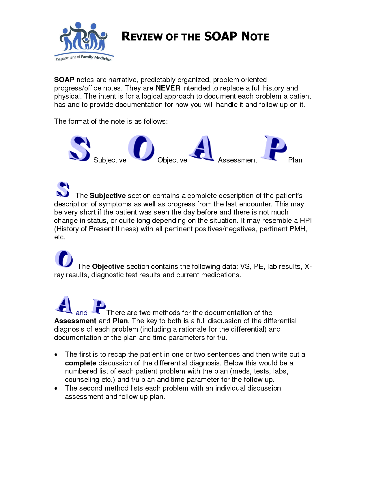 Soap note template counseling google search soap notes for Free soap note template