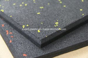 Hot Item 10mm Thick Rubber Crossfit Mats Floor Tiles Gummatta Fitness Rubber Floor Matting Rubber Floor Mats Rubber Flooring Tile Floor