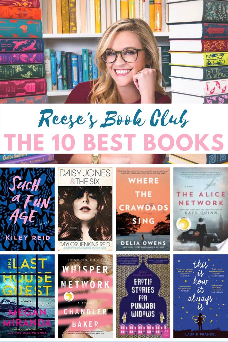 Our Favorite Celebrity Book Club Picks Part 2 Celebrity Books Reese Witherspoon Book Club Books You Should Read