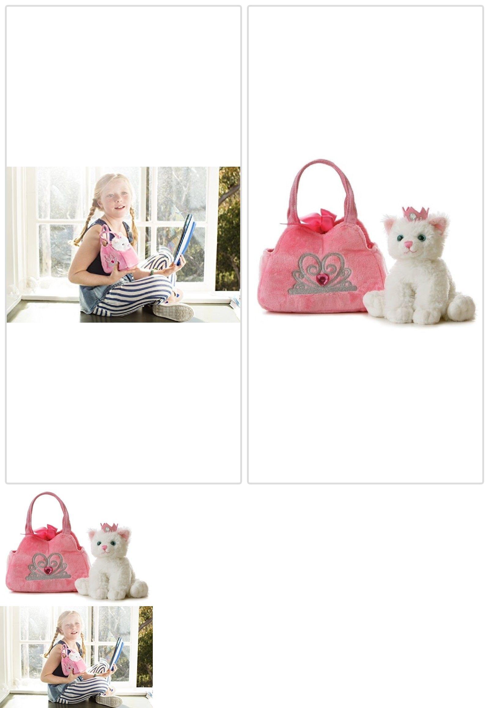 Aurora 158789 Aurora World Fancy Pals Plush Princess Kitten Purse Pet Carrier Buy It Now Only 12 28 On Ebay Auror Pet Carrier Purse Pet Carriers Kitten