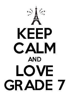 keep calm and love grade 7 grade 7 classroom decor classroom
