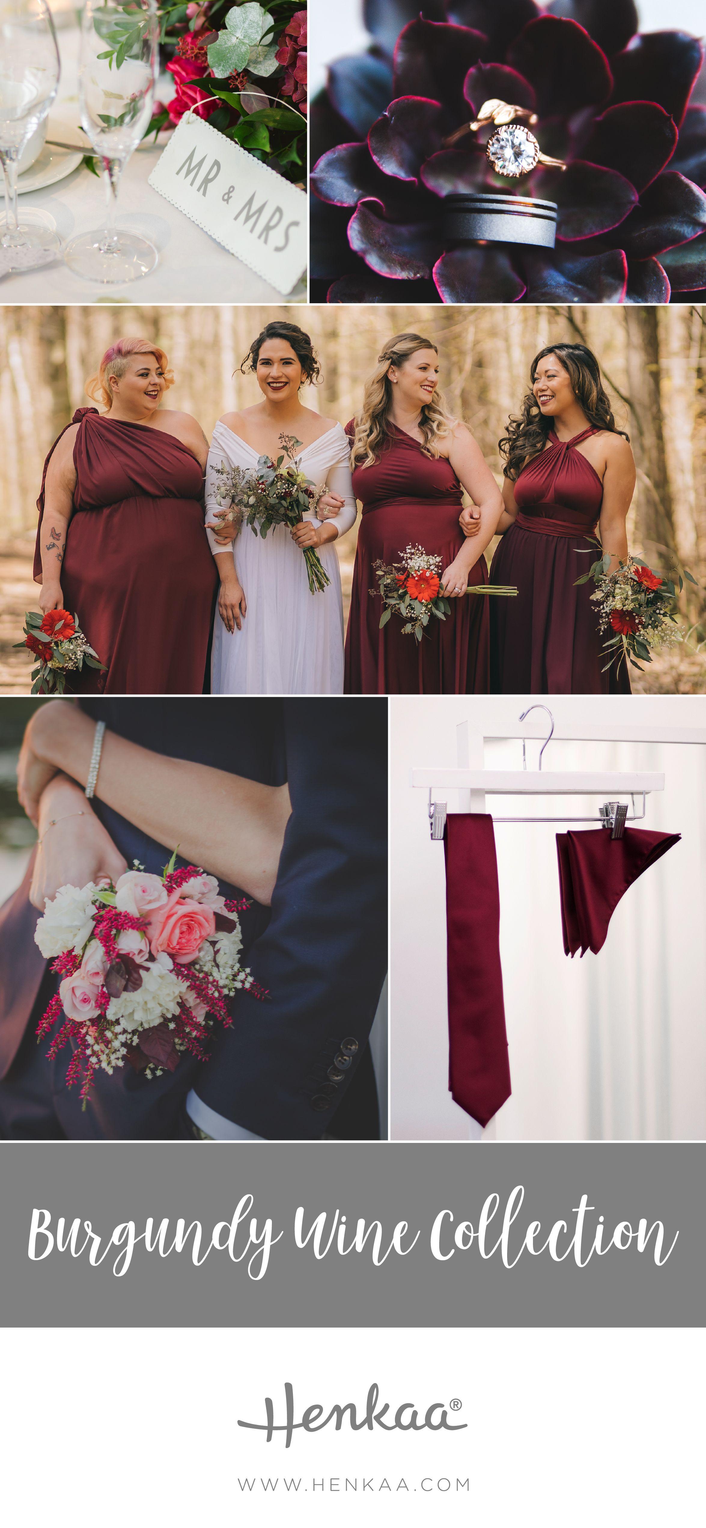 Maroon and white wedding decor  Meet Burgundy Wine a Classic Romantic Wedding Colour  Henkaa