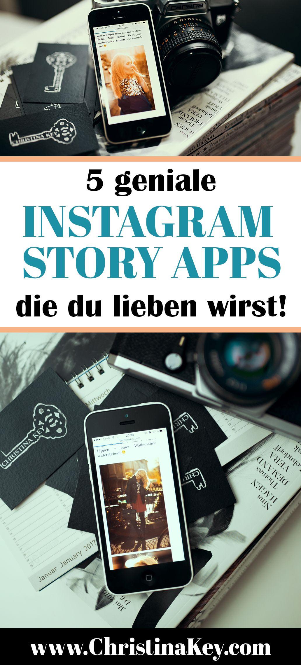 Instagram Stories - 5 geniale Apps die Deine Story noch spannender machen
