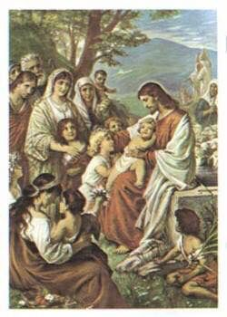 Jesus is so sweet with people and children