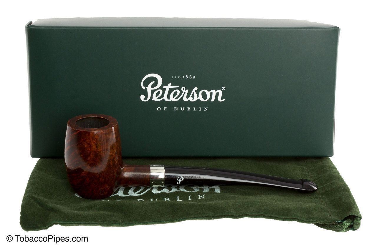 TobaccoPipes.com - Peterson Barrel Smooth Tobacco Pipe - PLIP , $80.00…