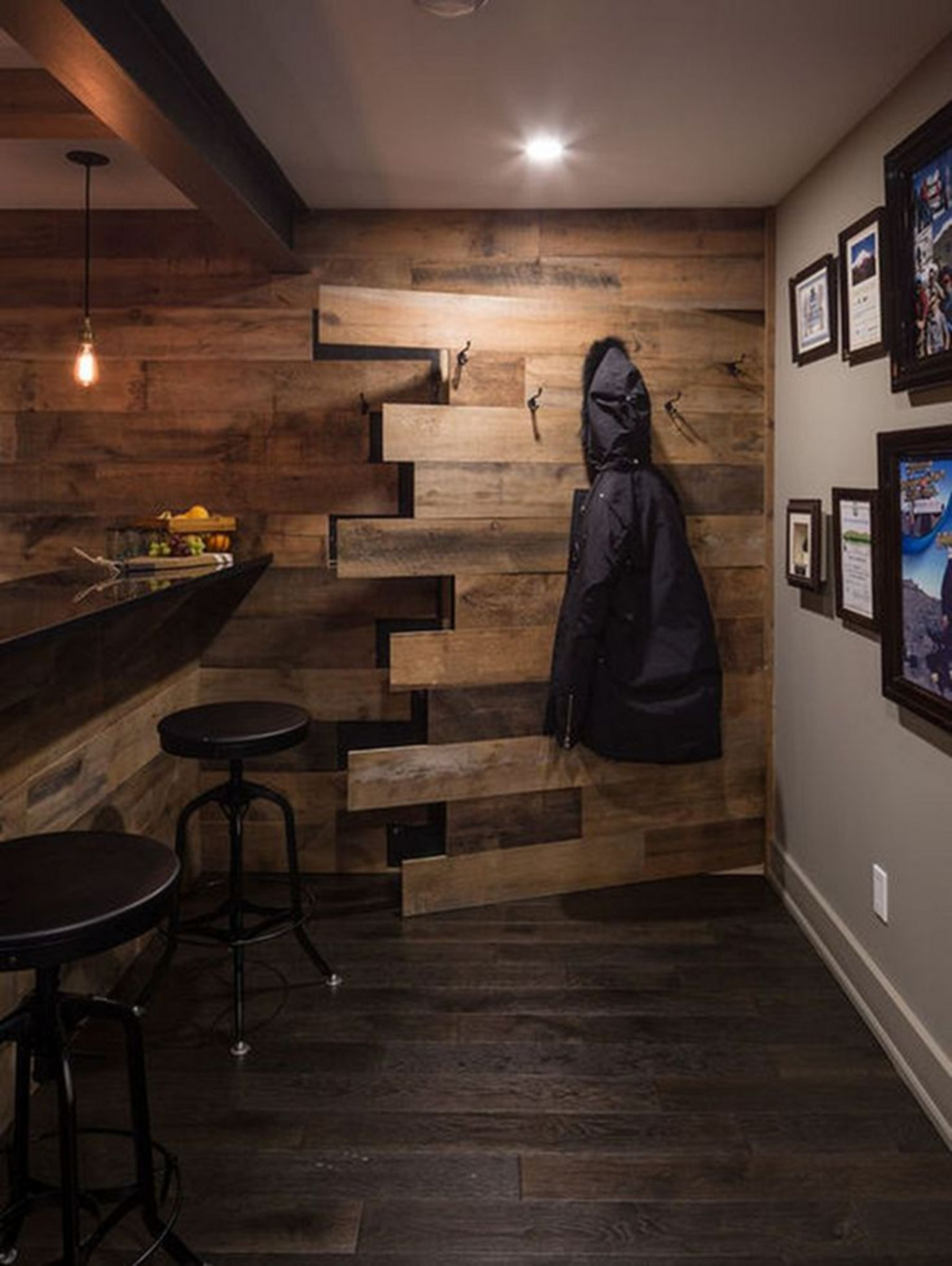 20 Best Garage Remodel Ideas To Be Amazing Room Rustic Basement Basement Remodeling Basement Design
