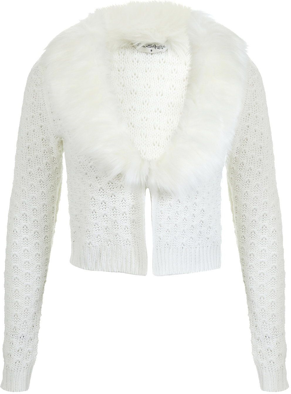 Womens cream cardigan from Miss Selfridge - £35.10 at ClothingByColour.com