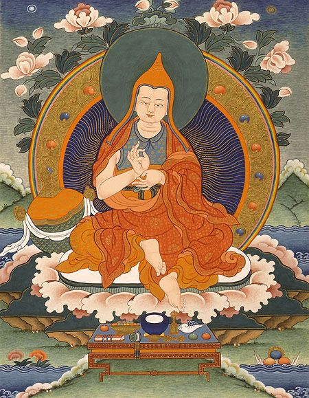 Asanga C 300 370 Ce Received Many Teachings From Maitreya And