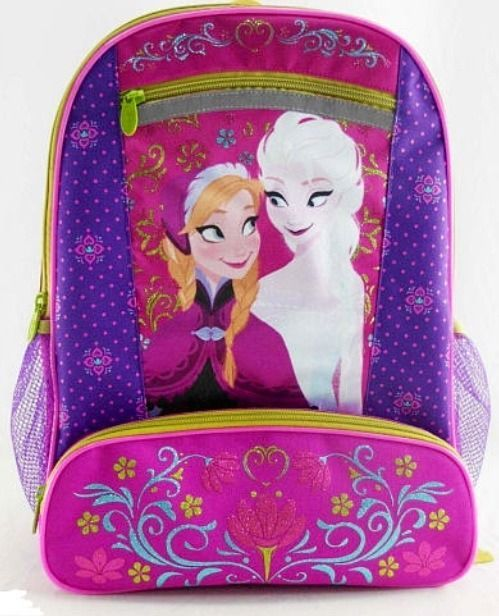 3c0256b072f Disney Frozen Elsa Anna Book Bag Back Pack NEW Bookbag School backpack Full  Size