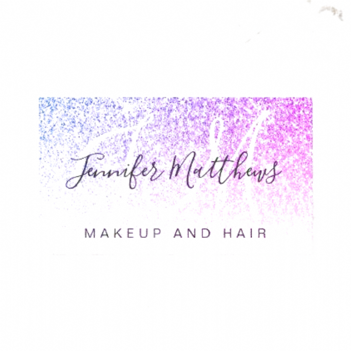 Girly Pink Purple Glitter Makeup Artist Hair Salon Business Card #wallpapers cute girly