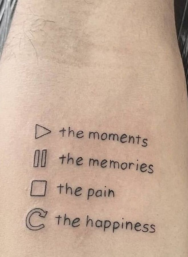 68 Small Meaningful Words And Quotes Tattoo Ideas To Look Unique -
