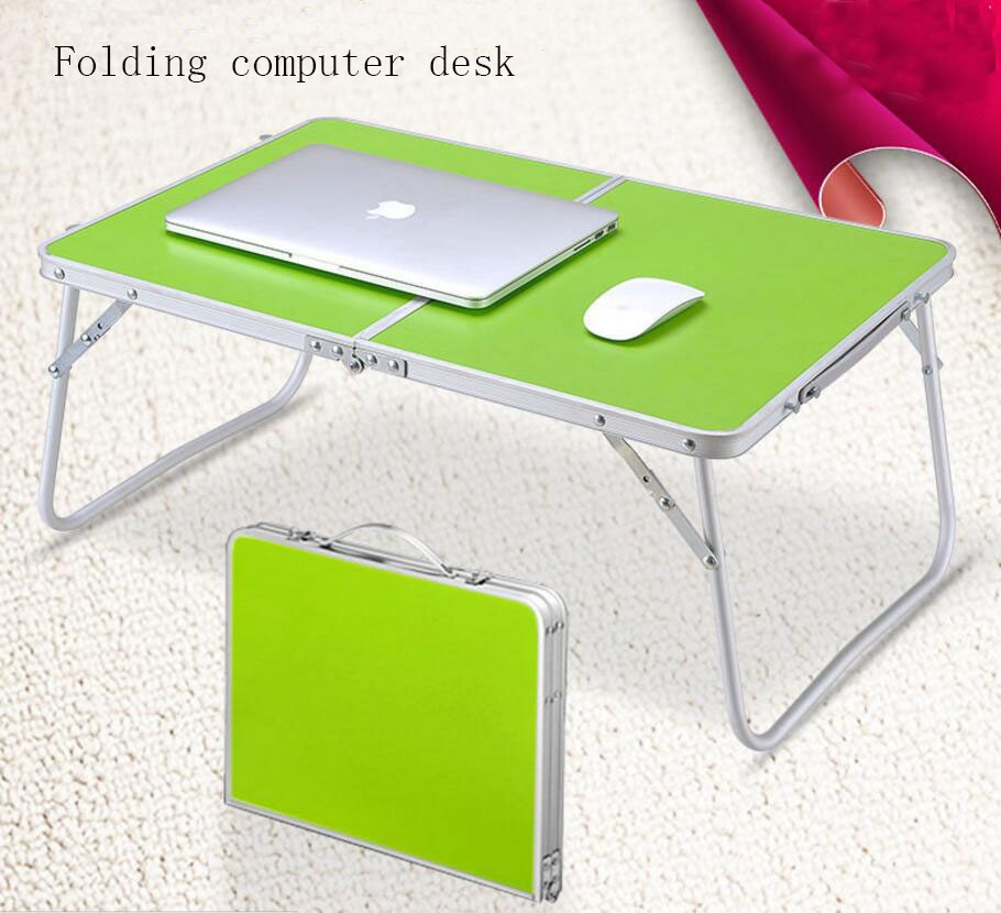 41.80$  Buy now - http://alivp3.worldwells.pw/go.php?t=32769584944 - 1PC multi-functional lightweight folding computer desk desk trumpet table SY22D5 41.80$