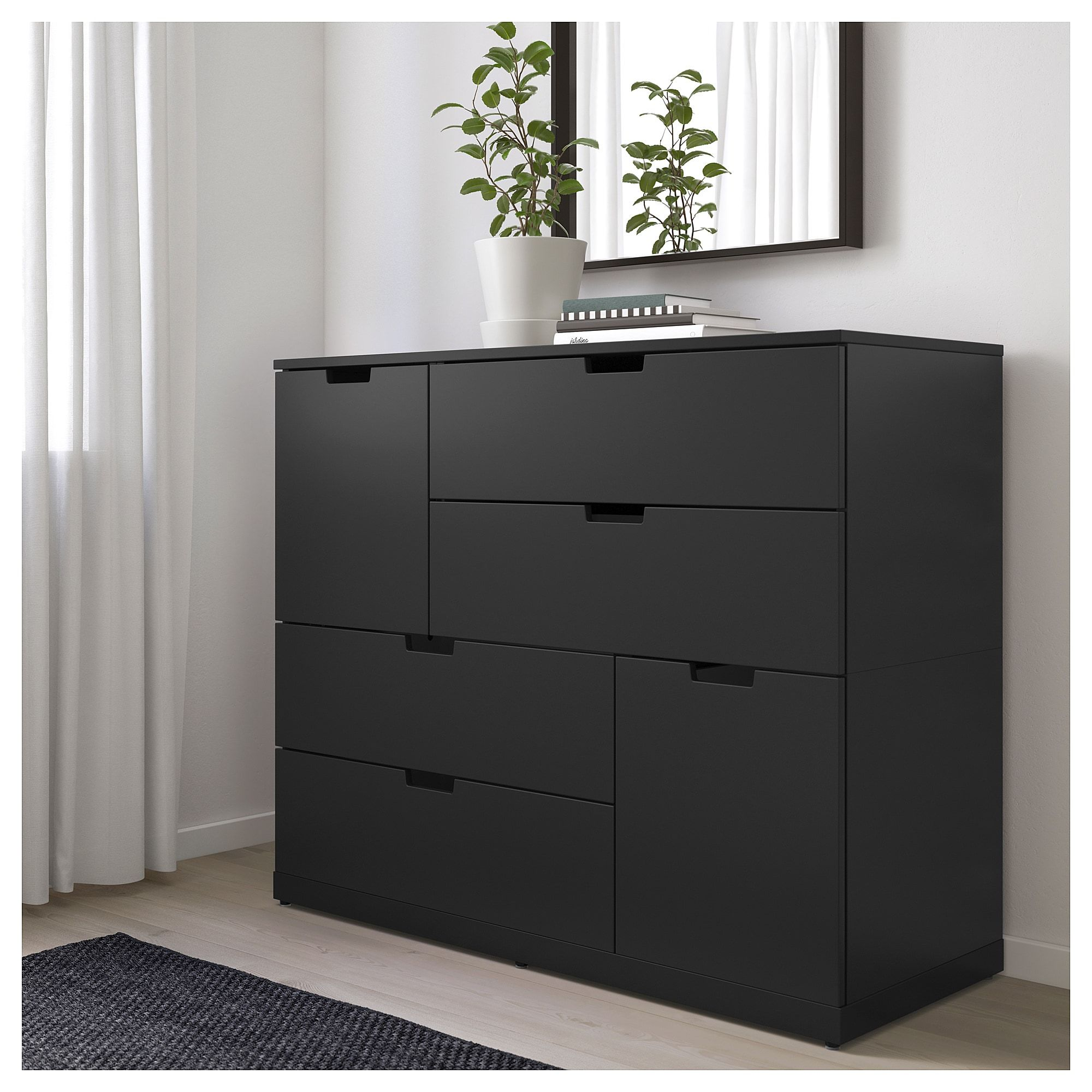Products Dresser Drawers Ikea Nordli Black Dresser Bedroom [ 2000 x 2000 Pixel ]