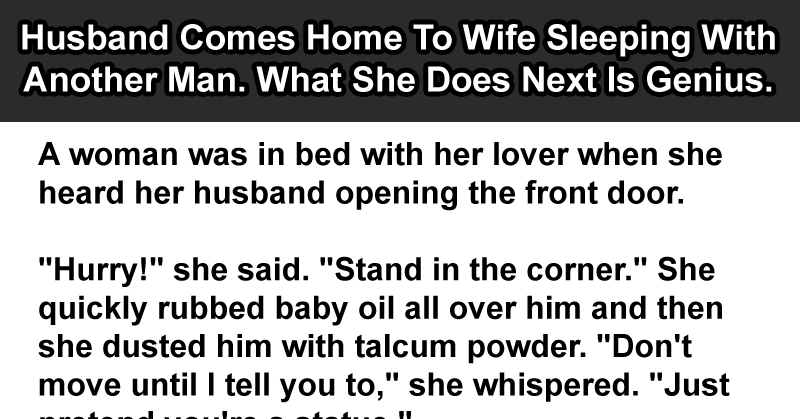 Woman Another Slept A Signs With Man