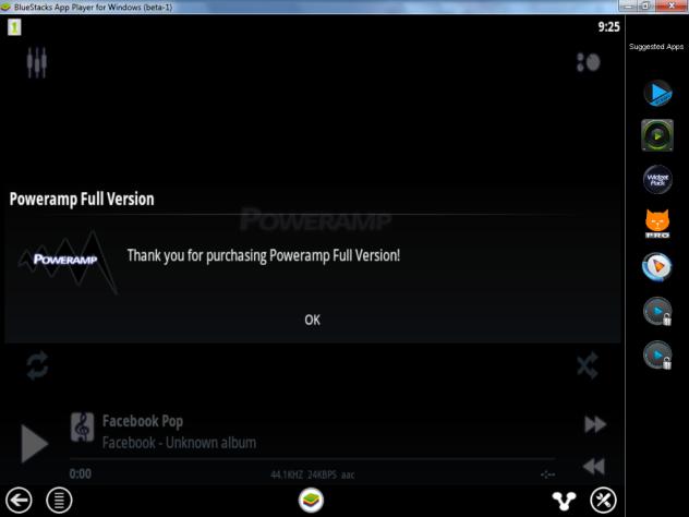 Poweramp Full Version Unlocker apk cracked no root free download