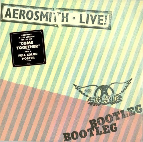 live cover Aerosmith bootleg album