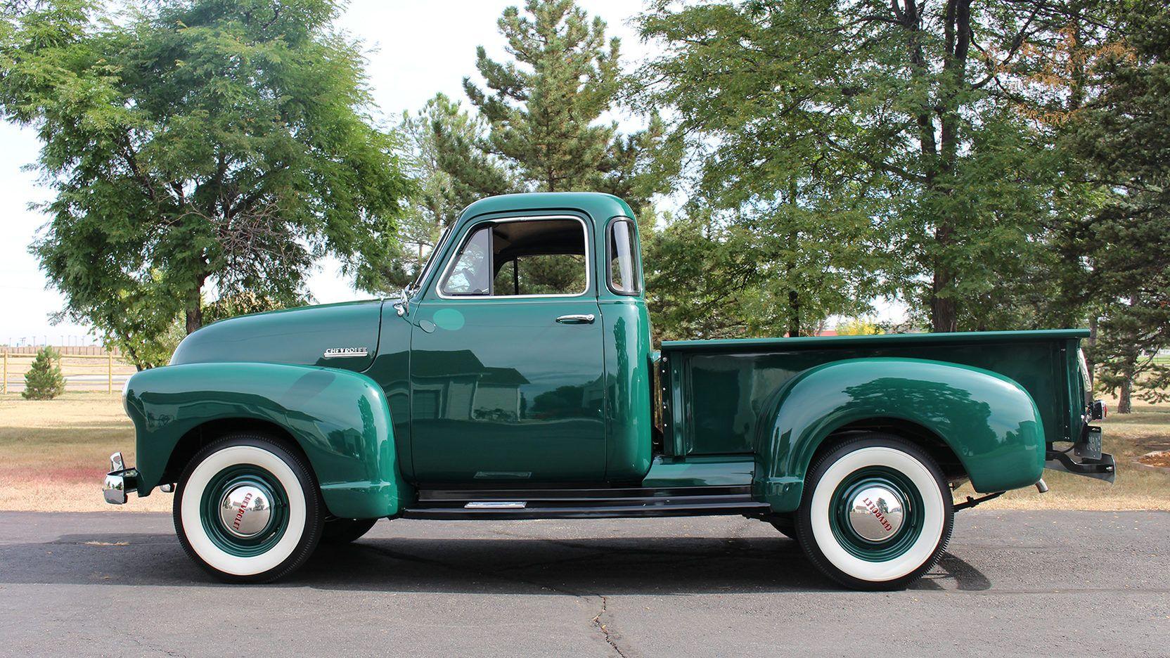 1952 Chevrolet 3100 5 Window - 2 - Print Image | Trucks - Chevy 1947