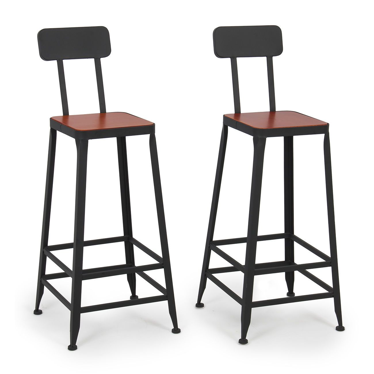 Pin By Iffah Fathin On Style: Industrial Bar Stools Barstools Wood Counter Top Height