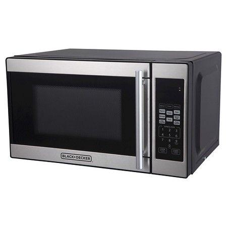 Black Decker 0 7 Cu Ft 700 Watt Microwave Oven Em720cpn P