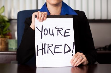 getting a job offer