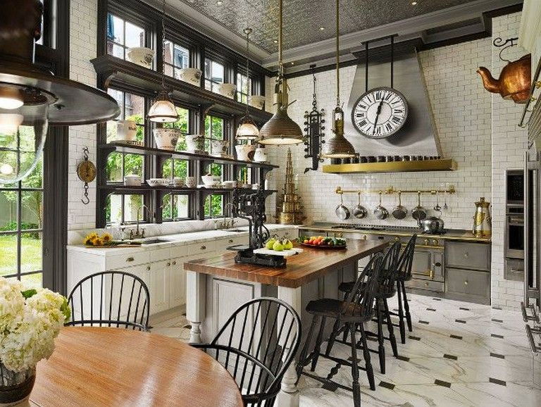 34 Inspirational Eclectic Kitchen Design Ideas Eclectic Kitchen