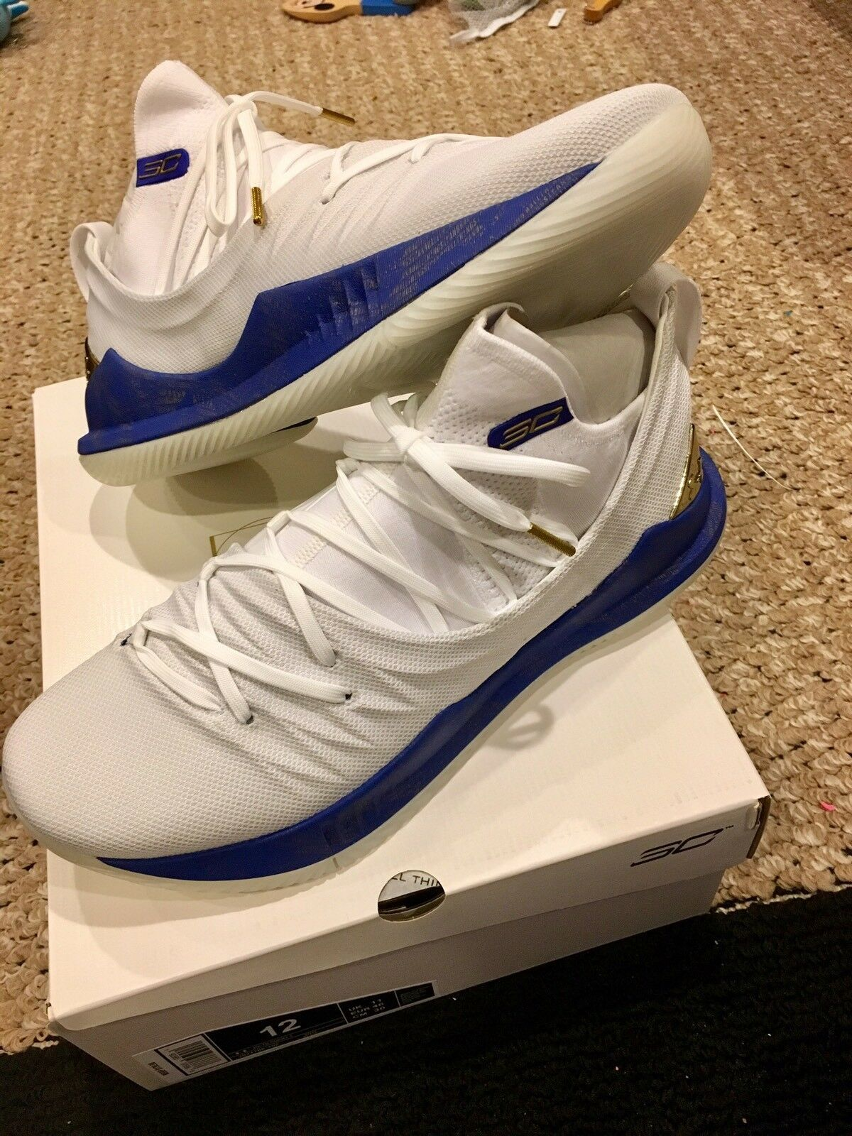 Under Armour Stephen Curry 5 Limited Edition White Le Pe Sz 12 Curry 4 Shoes Latest Curry 4 Shoes Stephen Curry Shoes Curry Basketball Shoes Curry Shoes