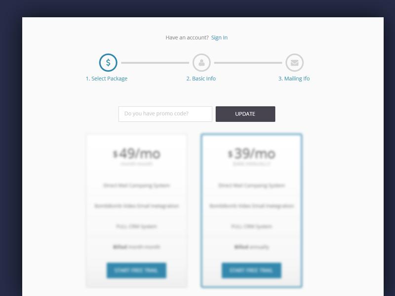 Step By Step Registration Process Registration Web Design Step