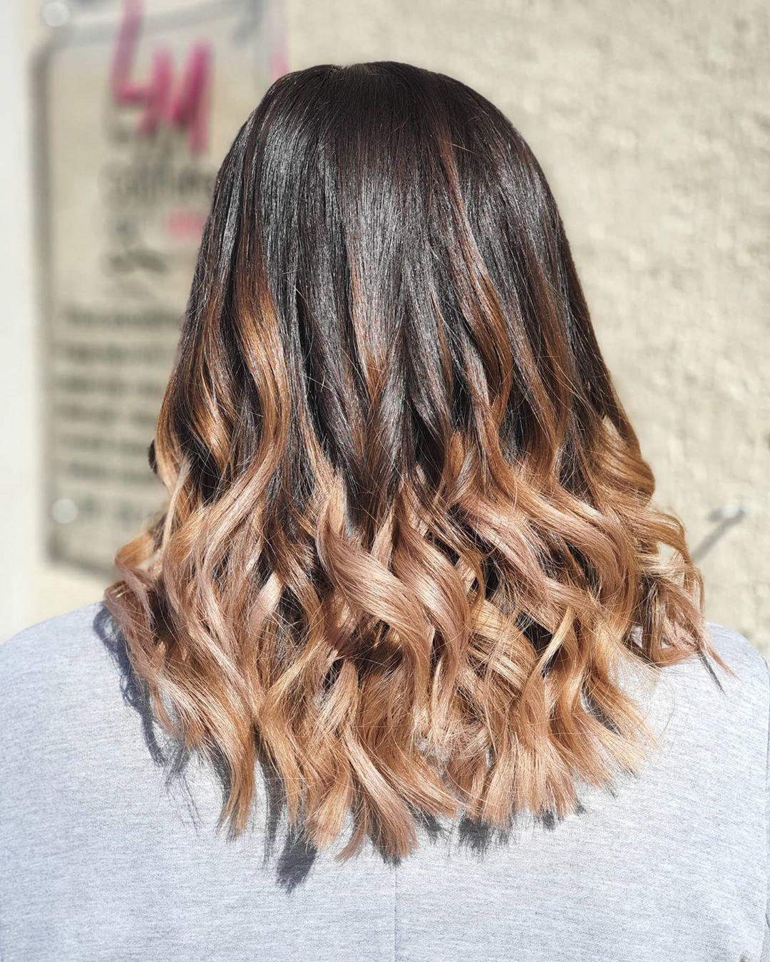 Pin Di Hair Color Asian