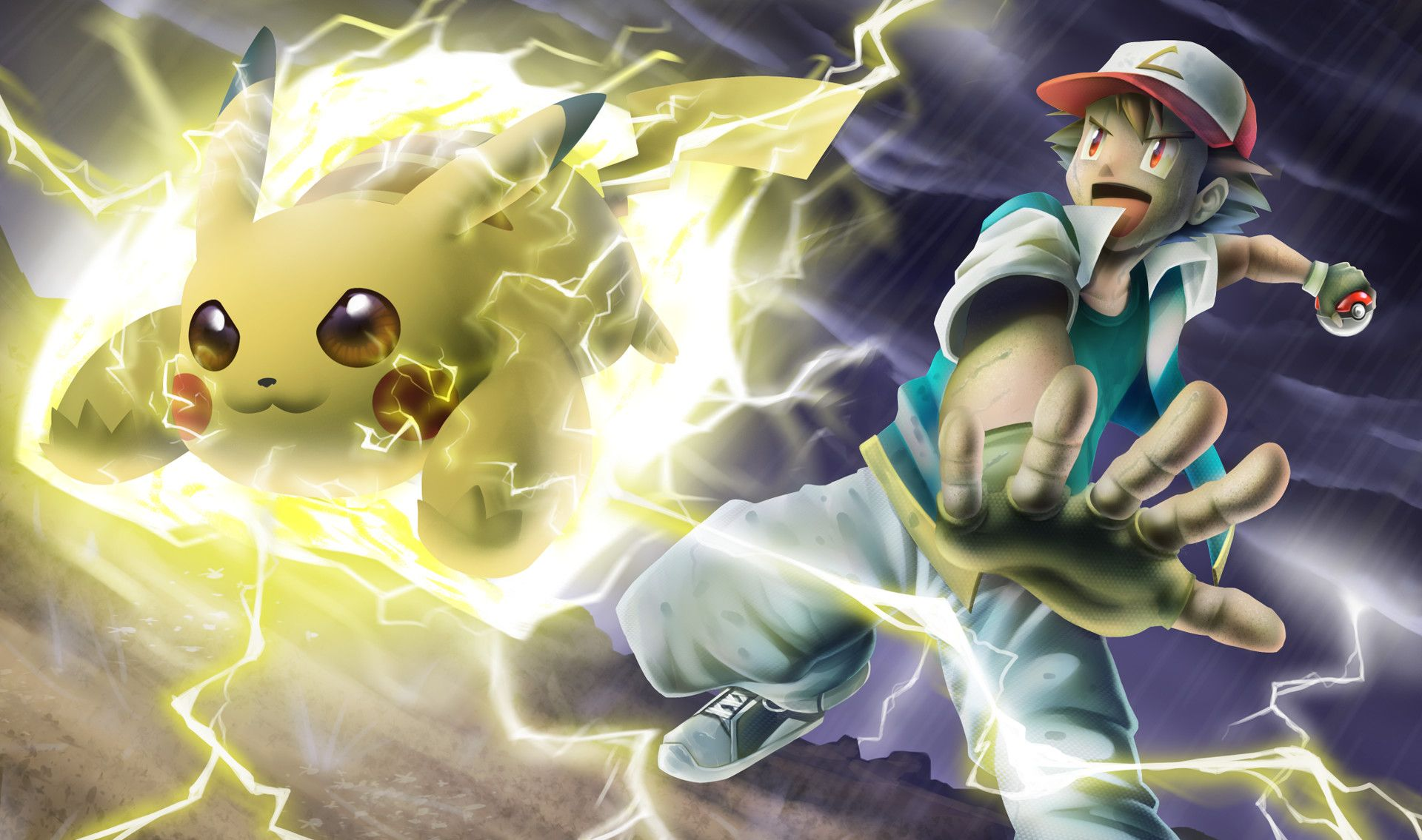 Pikachu's Amazing Volt Tackle by Luis Fernando