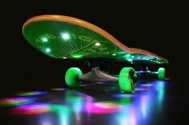 Glow Skateboard