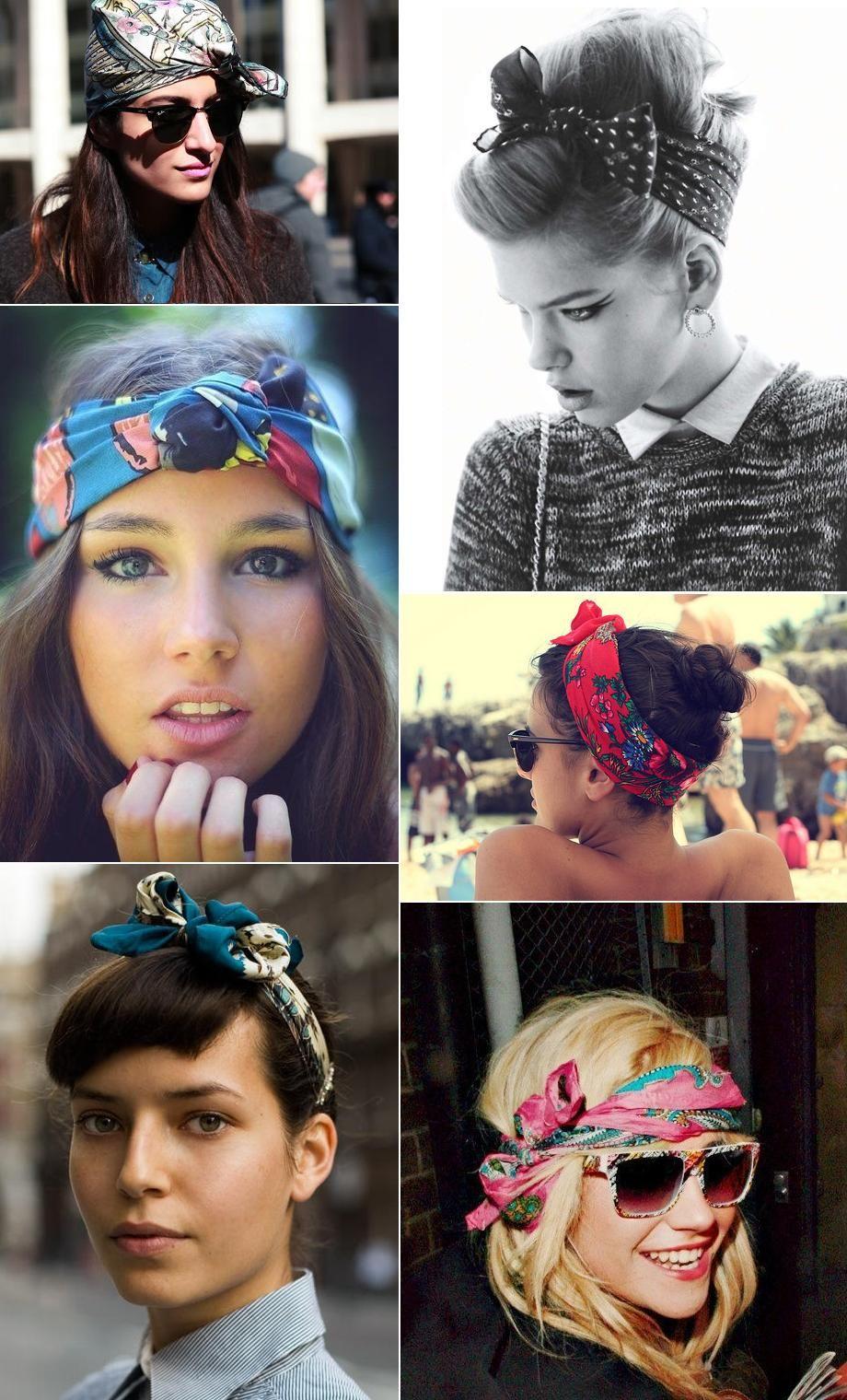 Pañuelos el accesorio de moda para tu pelo s pinterest
