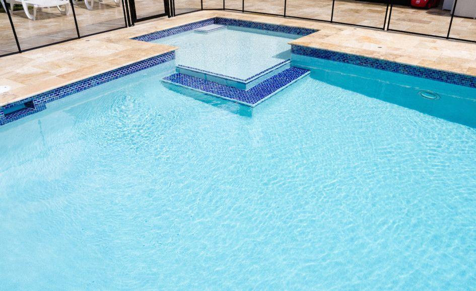 Pool Waterline Tile Ideas water line pool tile tru tile combines the beauty and luxury of ceramic tile with Pool Decks Peerless Water Line Tile For Swimming