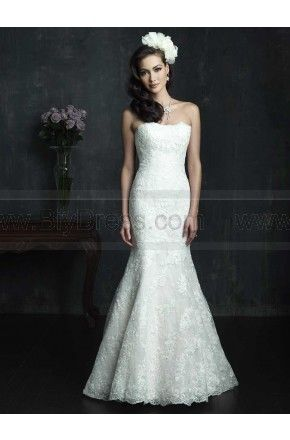 #Allure #Wedding Dresses #bridalgowns #strapless