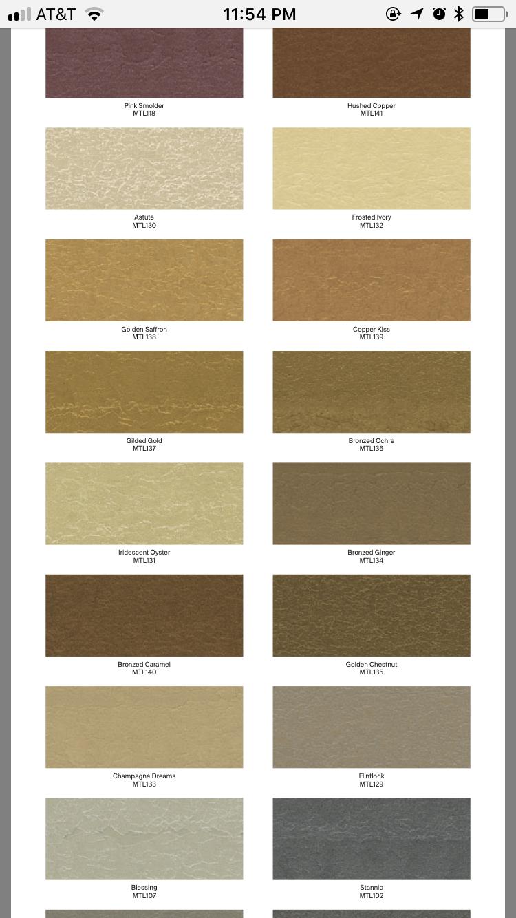 Ppg Metallic Tones Color Palette 2 4 Metallic Paint Colors Colorful Bath Bathroom Interior Design