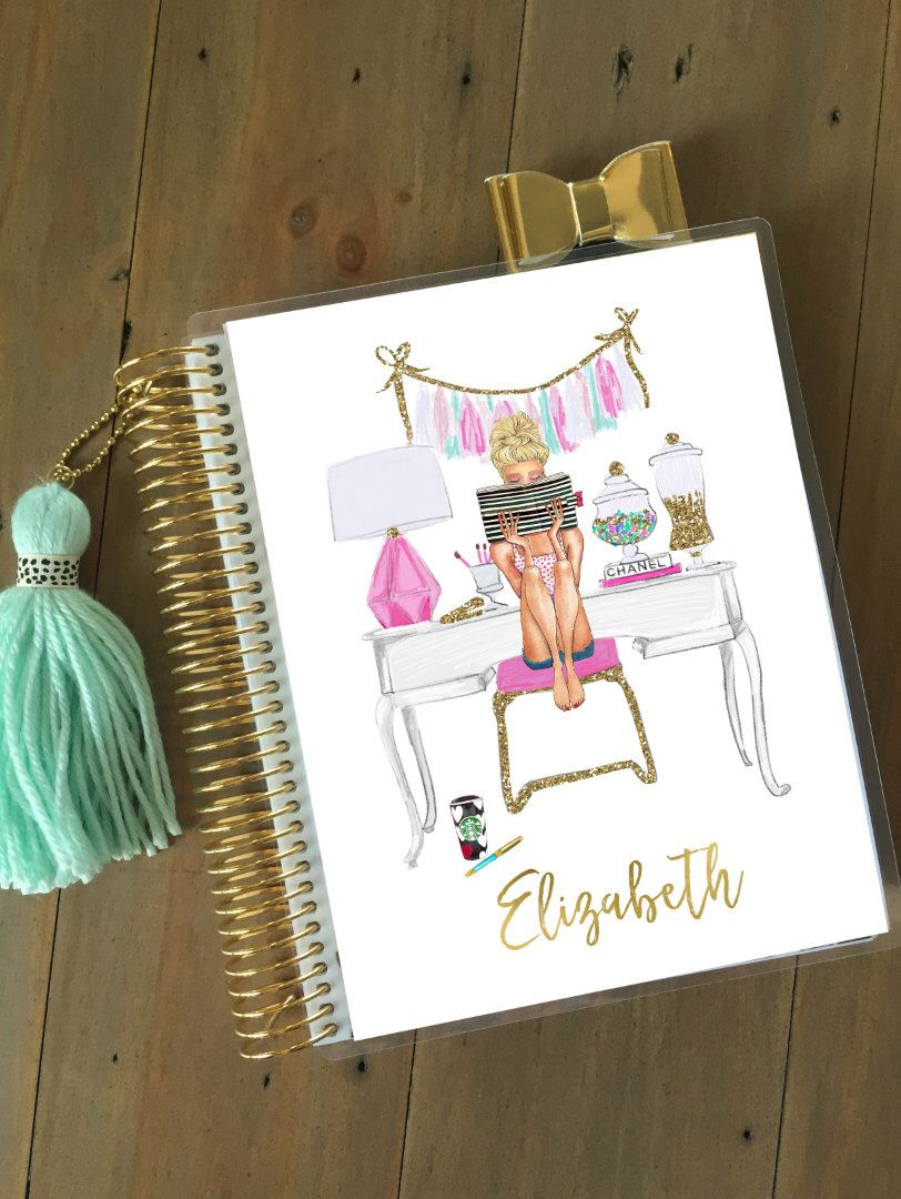 Planner Cover - Planner Girl Planner Cover: Erin Condren Planner Cover, Happy Planner Cover and Recollections Planner Cover Sizes Available by StylishPlanner on Etsy https://www.etsy.com/listing/479706502/planner-cover-planner-girl-planner-cover