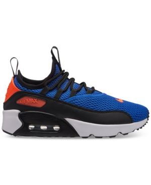 207ac2a105 Nike Boys' Air Max 90 Ultra 2.0 Ease Casual Sneakers from Finish Line -  Blue 4.5