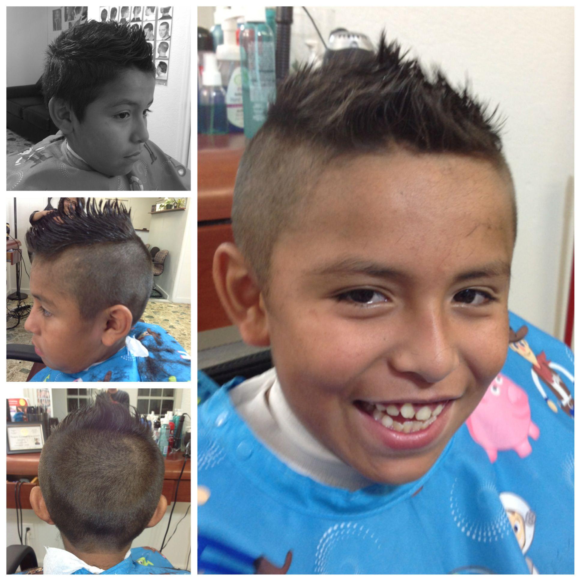 Kids mohawk fade kids haircut pinterest mohawks