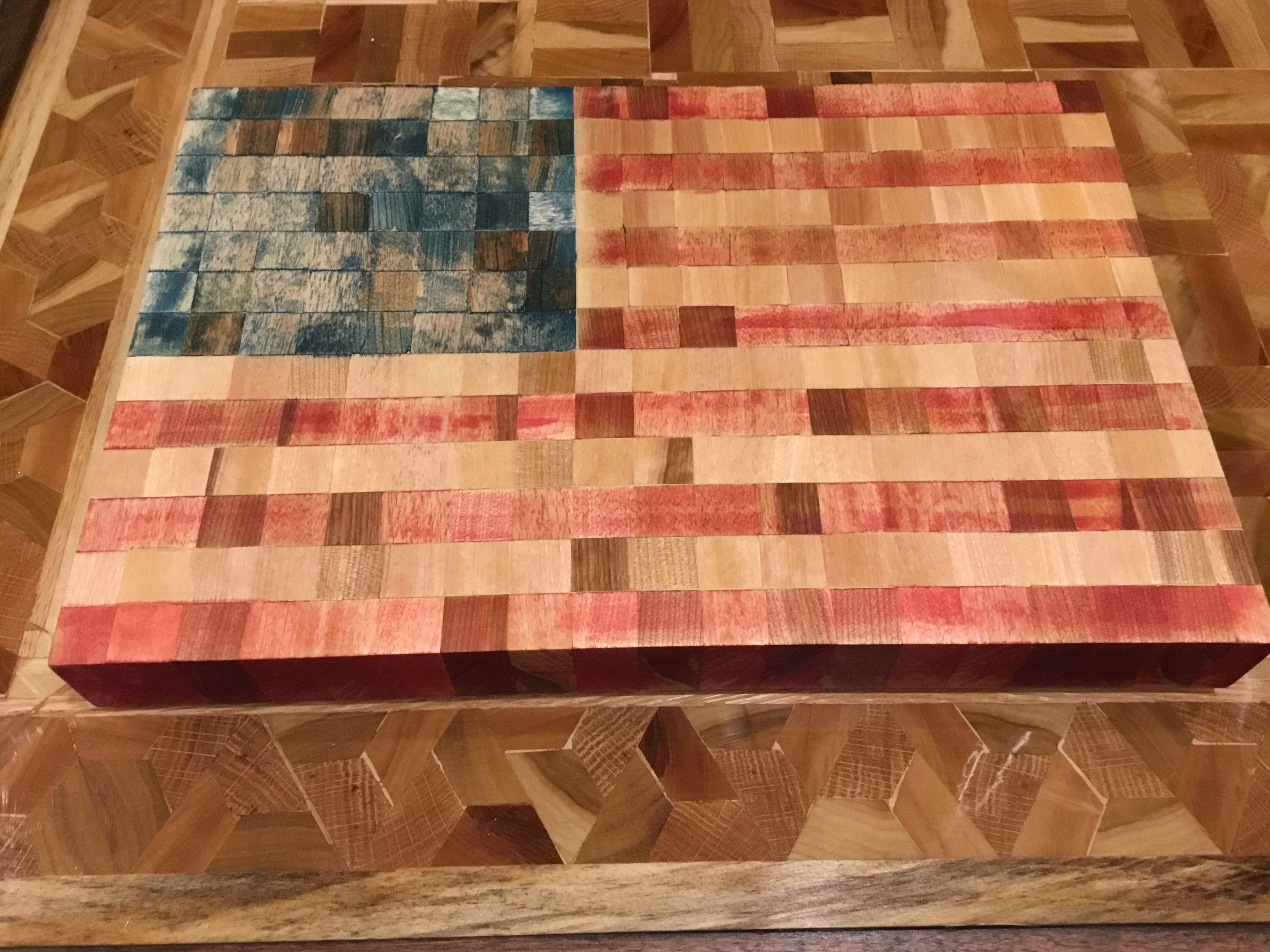 Food Safe Stain End Grain Cutting Board