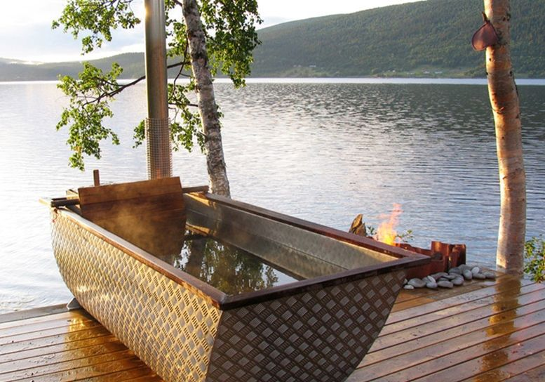 Bon An Outdoor Wood Fired Bathtub
