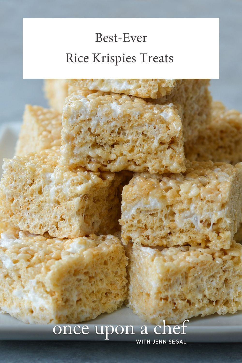 Best-Ever Rice Krispie Treats - Once Upon a Chef