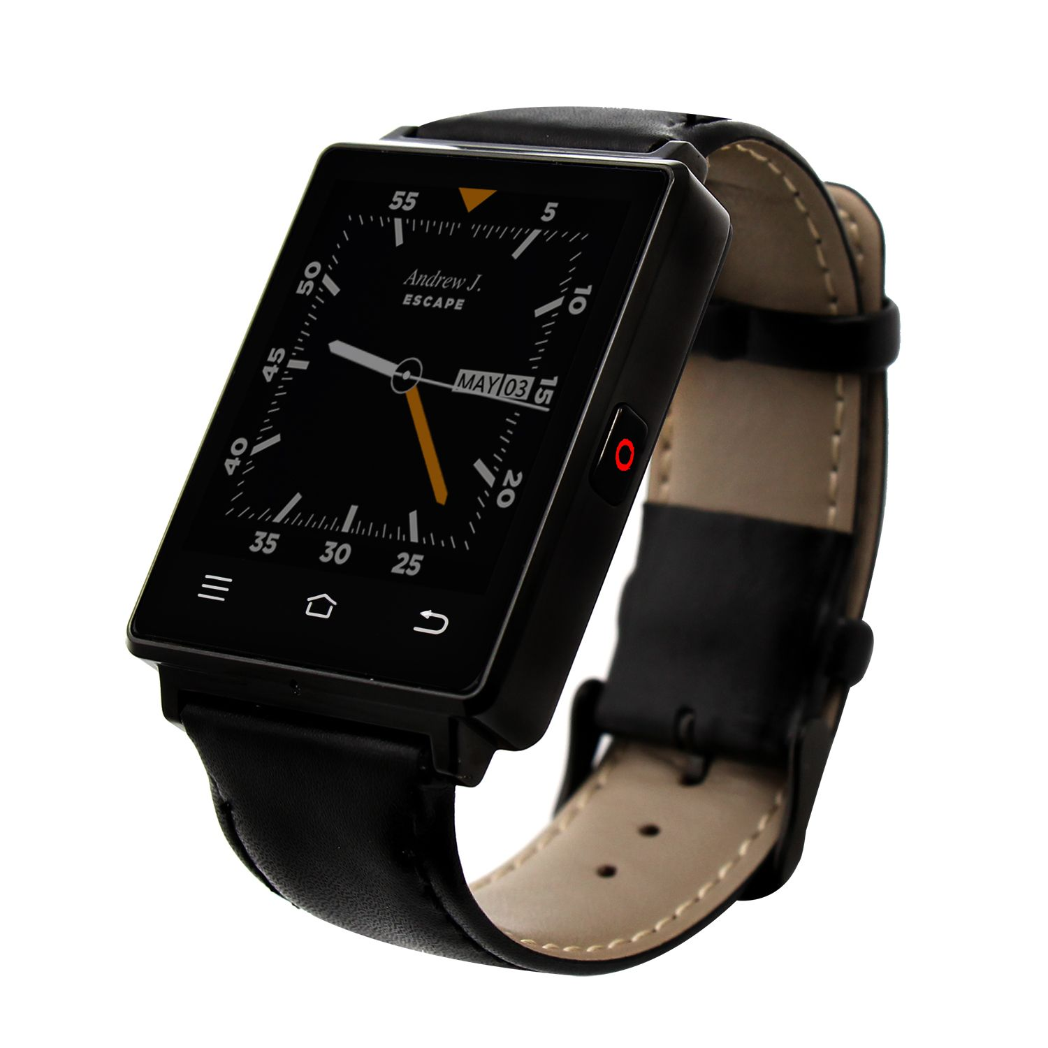 D6 Bluetooth smart watch with SIM Card slot for Iphone and
