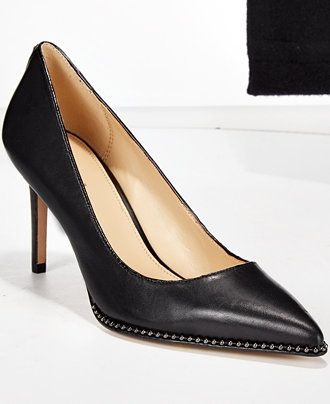 c6fc2ec61 COACH Vonna Beaded Pumps - Designer Shoe Shop - Shoes - Macy's ...