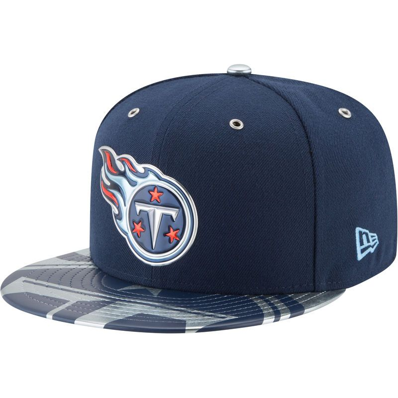 reputable site 9771b 3e4ce Tennessee Titans New Era 2017 NFL Draft Spotlight 59FIFTY Fitted Hat - Navy
