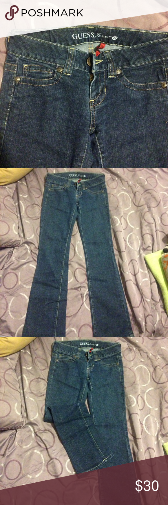Guess jeans Guess jeans boot cut size 27 Guess Jeans Boot Cut