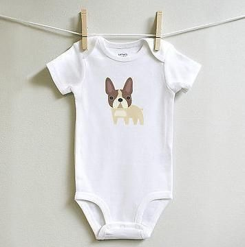 French Bulldog Baby Clothes For Boy Or