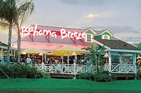 Bahama Breeze Orlando Orlando Restaurants Caribbean