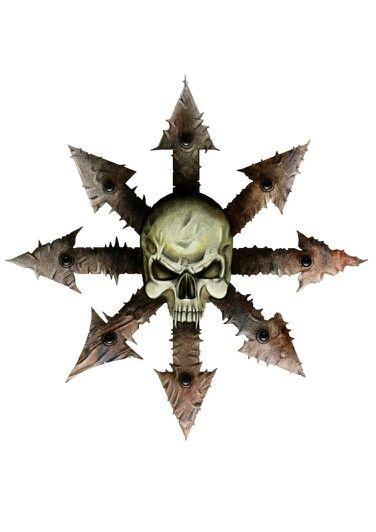 Chaos star | Warhammer art, Chaos magick, Chaos